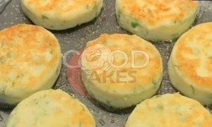 Сырники с зеленью и сыром рецепт шаг 7