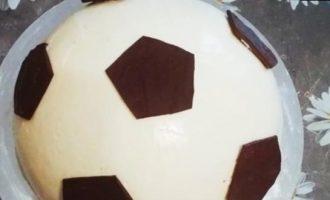 Торт для футболиста кулинарный рецепт