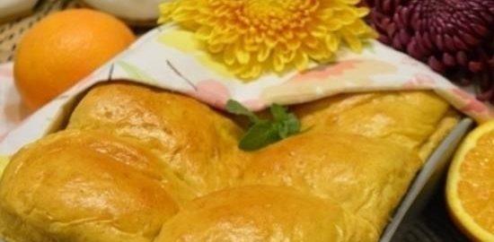 Тыквенные булочки с апельсиновым кремом кулинарный рецепт