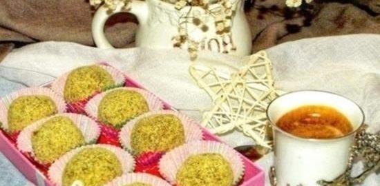 Тыквенные конфеты с авокадо и курагой кулинарный рецепт