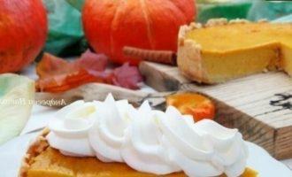 Американский тыквенный пирог кулинарный рецепт