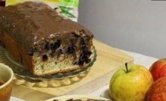 Апельсиновый кекс с черникой и шоколадом кулинарный рецепт