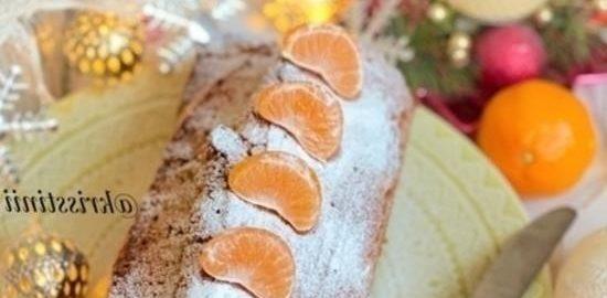 Апельсиновый пирог с кукурузной мукой кулинарный рецепт