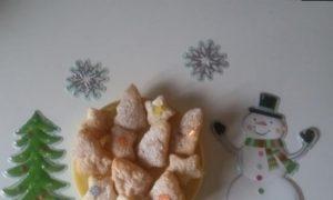 Быстрое новогоднее печенье кулинарный рецепт