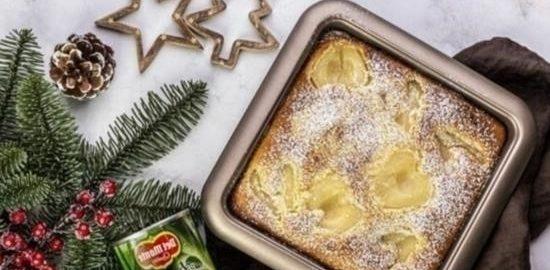 Грушевый пирог кулинарный рецепт