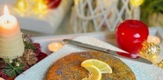 Лимонный кекс с маком кулинарный рецепт