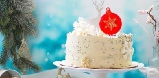 Миндальный торт «Пряная брусника» кулинарный рецепт