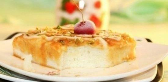 Молочный десерт с карамелью и кремом кулинарный рецепт