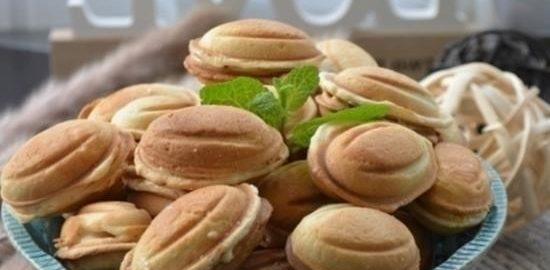 Орешки со сгущенкой кулинарный рецепт
