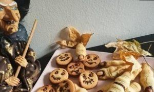Печенье для Хеллоуина кулинарный рецепт