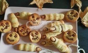Печенье для Хеллоуина рецепт шаг 6