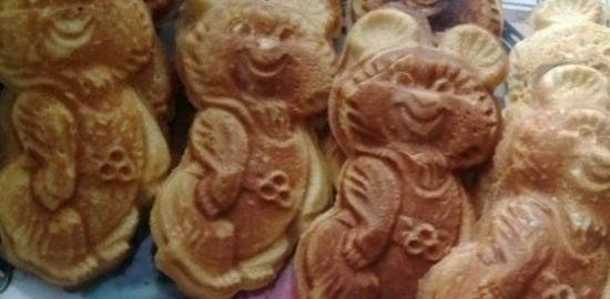 Печенье «Олимпийский Мишка» кулинарный рецепт