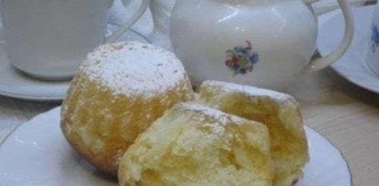 Ромовая баба кулинарный рецепт