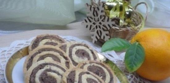 Шоколадно-миндальное печенье кулинарный рецепт