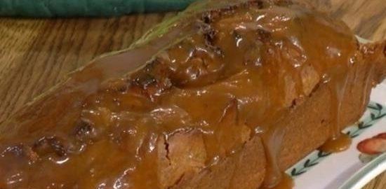 Зимний банановый кекс с миндалем и шоколадом кулинарный рецепт
