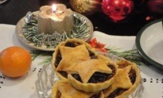 Английские рождественские корзиночки кулинарный рецепт