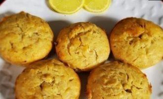 Банановые маффины с лимоном кулинарный рецепт