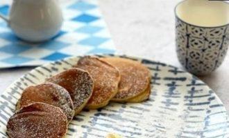 Банановые панкейки кулинарный рецепт