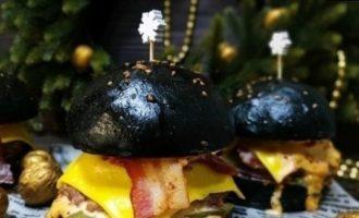 Бургер «Шахта» кулинарный рецепт