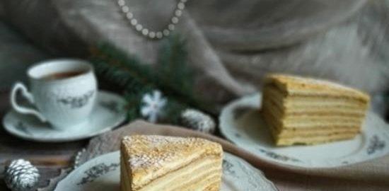 Домашний медовый торт кулинарный рецепт