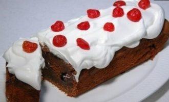 Кекс «Черный лес» кулинарный рецепт