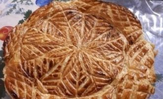 Королевская галета с фисташковым франжипаном кулинарный рецепт