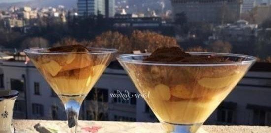Нежный десерт с манго кулинарный рецепт
