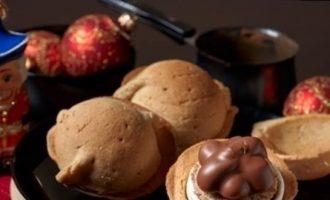 Песочное пирожное «Кракатук» с кофейным кремом кулинарный рецепт