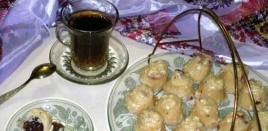Пирожные без выпечки «Экспромт» кулинарный рецепт