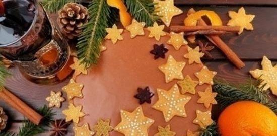 Праздничный тарт «Аромат Рождества» кулинарный рецепт