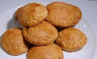 Пышное печенье на кефире кулинарный рецепт