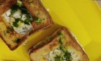 Сэндвичи с перепелиным яйцом кулинарный рецепт