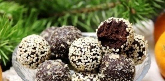 Шоколадные конфеты с авокадо кулинарный рецепт