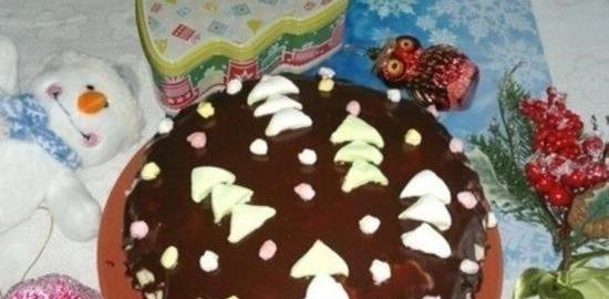 Шоколадный торт кулинарный рецепт