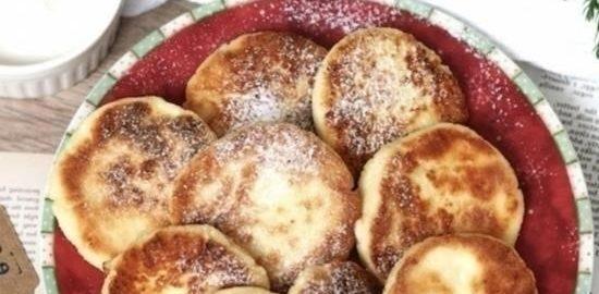 Сырники на рисовой муке кулинарный рецепт