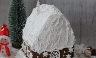 Торт «Волшебная избушка» кулинарный рецепт