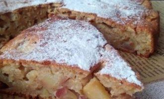Творожная шарлотка кулинарный рецепт
