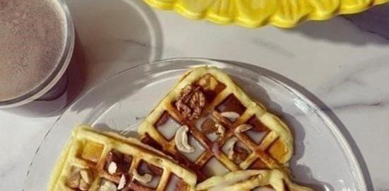 Вафли с рикоттой кулинарный рецепт