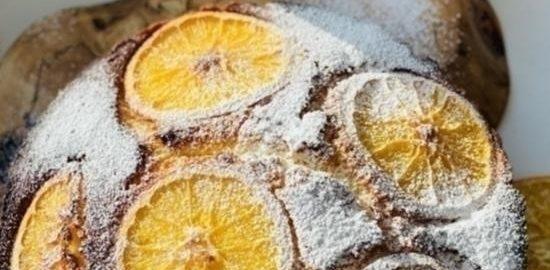 Апельсиновый кекс кулинарный рецепт