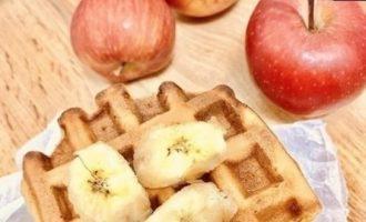 Банановые вафли кулинарный рецепт