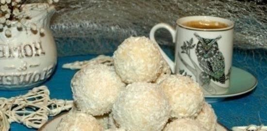 Кокосовый десерт с рикоттой кулинарный рецепт