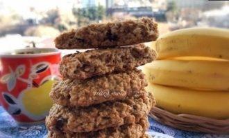 Овсяное печенье на яблочном пюре кулинарный рецепт