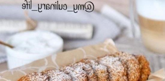 Овсяное печенье с кокосом кулинарный рецепт