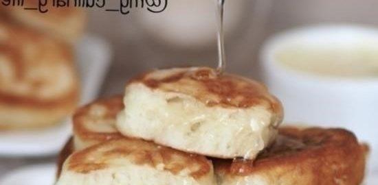 Пышные оладьи кулинарный рецепт