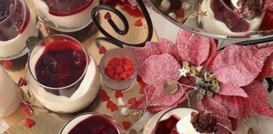 Шоколадно-творожные трайфлы с вишневым конфитюром кулинарный рецепт