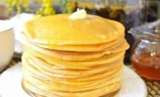 Тонкие блинчики на молоке кулинарный рецепт