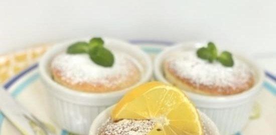 Запеченный лимонный пудинг кулинарный рецепт